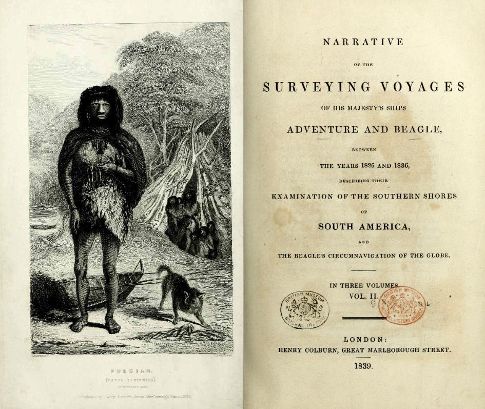 Narrative of the Surveying Voyages, Volume II title page