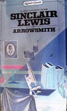 Illustration for Sinclair Lewis' Arrowsmith