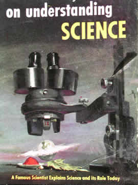 Cover of the 1951 Mentor Book On understanding science